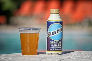 Pool Drink Specials Bucket of Blue Moon