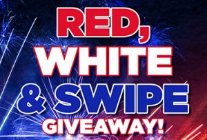 Las Vegas Deals Red White & Swipe