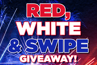 Red, White & Swipe Giveaways - Las Vegas Deals