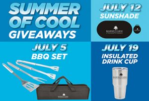 Las Vegas Deals Summer Gift Giveaways at Rampart Casino