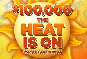 Las Vegas Deals _ $100,000 The Heat is On Giveaway