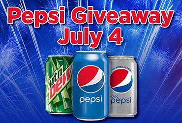 Pepsi Giveaway - Las Vegas Deals