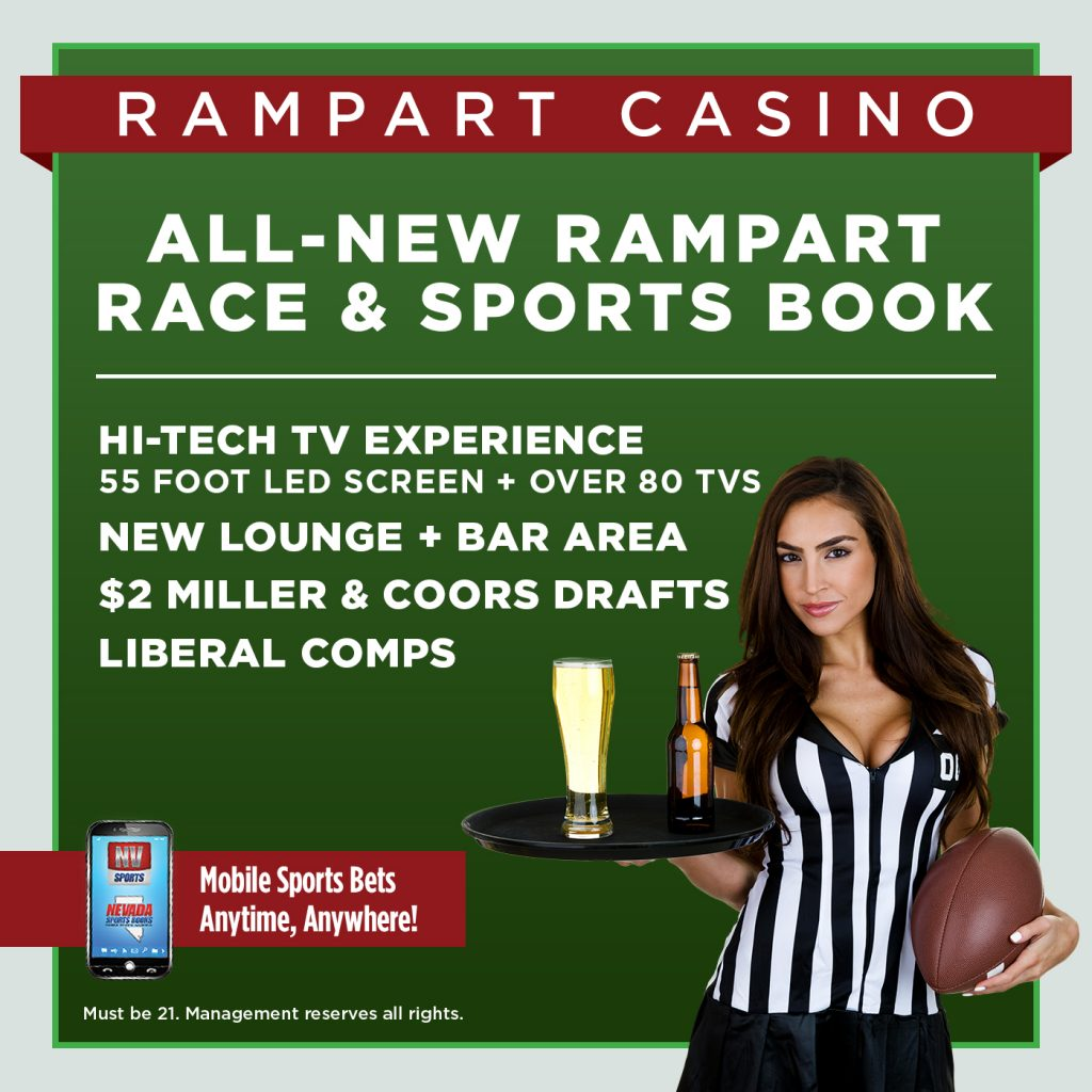 Rampart Race & Sports Book