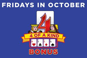 Las Vegas Casino 4 of a Kind Bonus