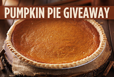 Pumpkin Pie Giveaway - Las Vegas Deals