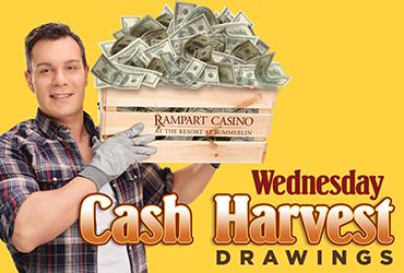 Cash Harvest Drawings - Las Vegas Casino