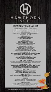 Hawthorn Grill Thanksgiving Brunch - Las Vegas Event