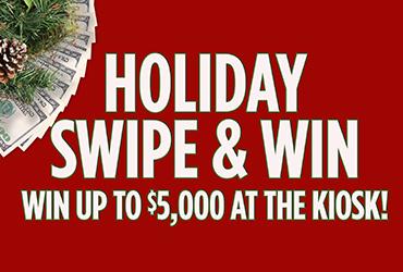 Holiday Cash Swipe & Win - Las Vegas Deals