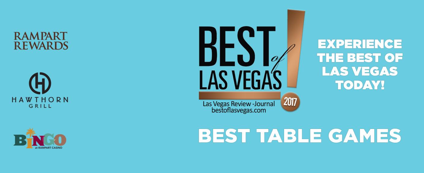 Best of Las Vegas - Best Las Vegas Table Games