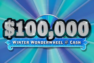Rampart Casino is the best Las Vegas Casino with the Winter Wonderwheel of Cash December Promotion