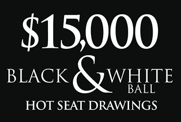$15,000 Black & White Ball Hot Seat Drawings - Las Vegas Deals