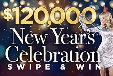 $120,000 New Year Swipe - Las Vegas Deals