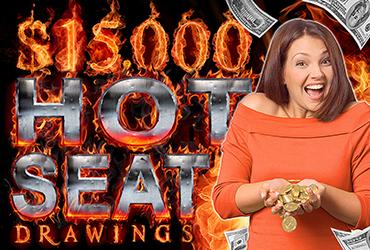 $15,000 Free Slot Play Hot Seats - Las Vegas Slots