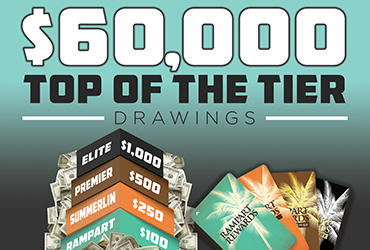 $60,000 Top Of The Tier Drawings - Las Vegas Deals