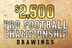 Pro Football Championship Drawings