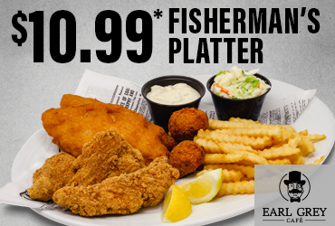 $10.99* Fisherman's Platter Dinner Special
