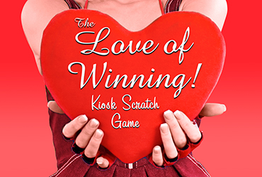 Love of Winning Kiosk Scratch Casino Game