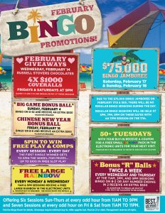 Rampart Bingo Promotions - Las Vegas Bingo