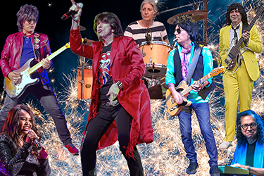 Mick Adams & The Stones