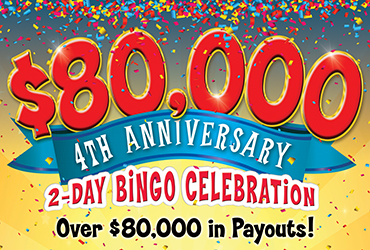 Rampart Bingo 4th Anniversary Celebration