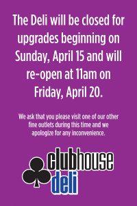 Clubhouse Deli - Las Vegas Deli