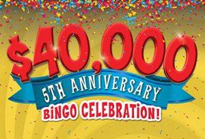 Rampart Bingo 5th Anniversary
