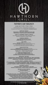 Father's Day Brunch in Hawthorn Grill