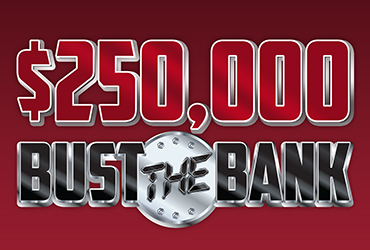 $250,000 Bust the Bank Drawings - Rampart Casino - Las Vegas Slots