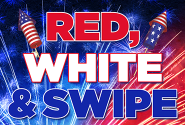 Red, White and Swipe - Las Vegas Deals