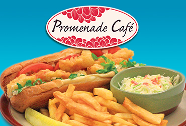 $7.99 Shrimp Po'Boy Dinner Special
