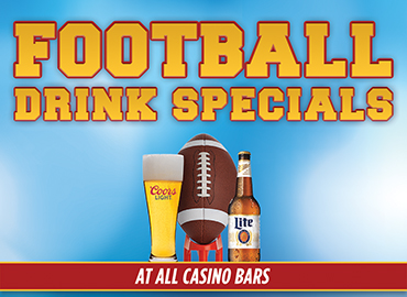 Football Season Drink Specials