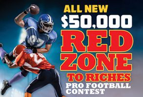Red Zone to Riches Pro Football Contest