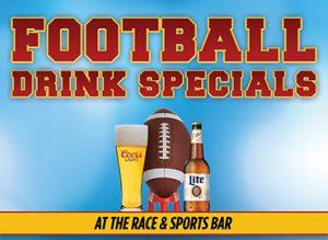 Football Drink Specials