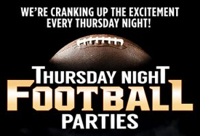 Thursday Night Football Parties