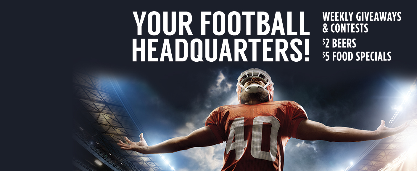 Rampart Casino is Your Football Headquarters