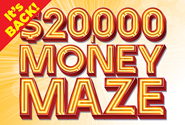 $20,000 Money Maze - Las Vegas Casino