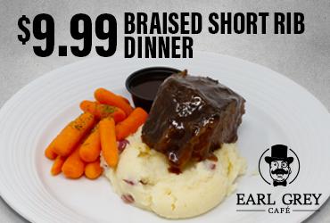 $9.99 Braised Short Rib Dinner Special