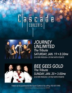 Cascade Live music las vegas Entertainment
