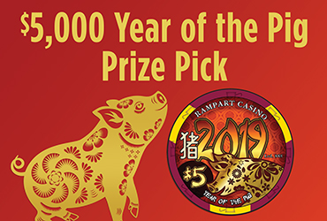 $5,000 Year of The Pig Prize Pick - Vegas Event