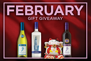 February Gift Giveaways - Las Vegas Deals