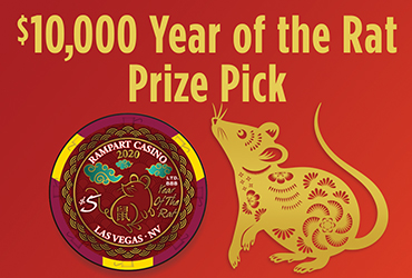 $5,000 Year of The Rat Prize Pick - Vegas Event