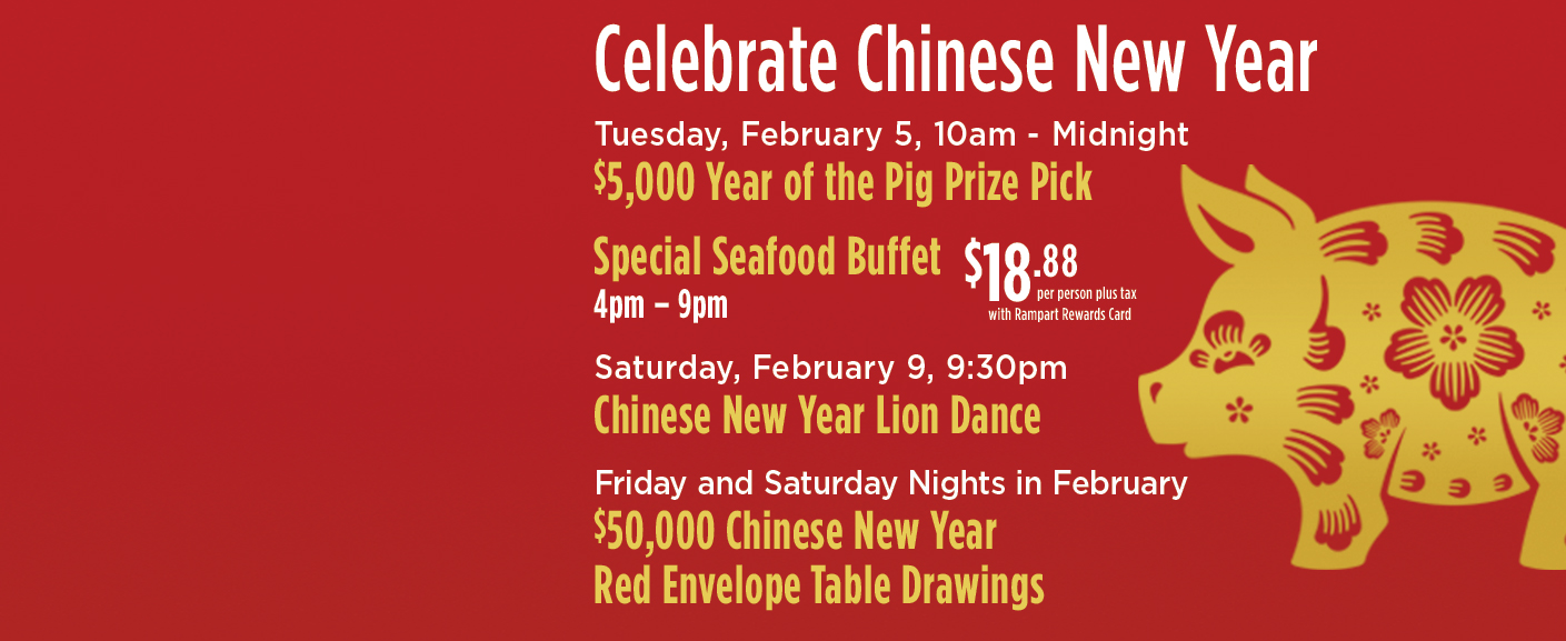 Chinese New Year at Rampart Casino