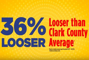 36% Verified Looser Slots at Rampart Casino