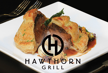 Beef Wellington Dinner Special at Hawthorn Grill