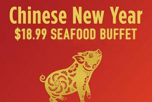Chinese New Year Seafood Buffet Rampart Casino