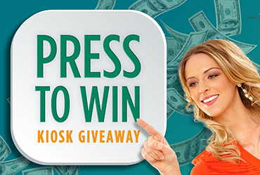 Press To Win Kiosk Giveaway - Las Vegas Deals