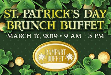 St. Patrick's Day Brunch Buffet