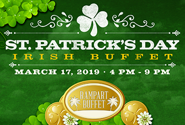 St. Patrick's Day Irish Buffet