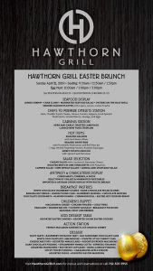 Join us for Easter Brunch at Hawthorn Grill!