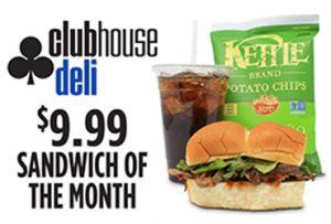 Clubhouse Deli has the best Las Vegas deli special!